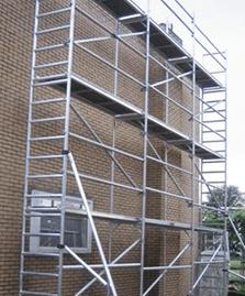 Fassadengerüst mieten