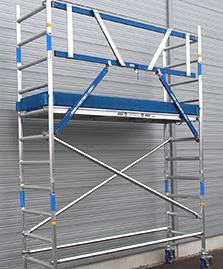 Rollgerüst 75er-Rahmen mieten