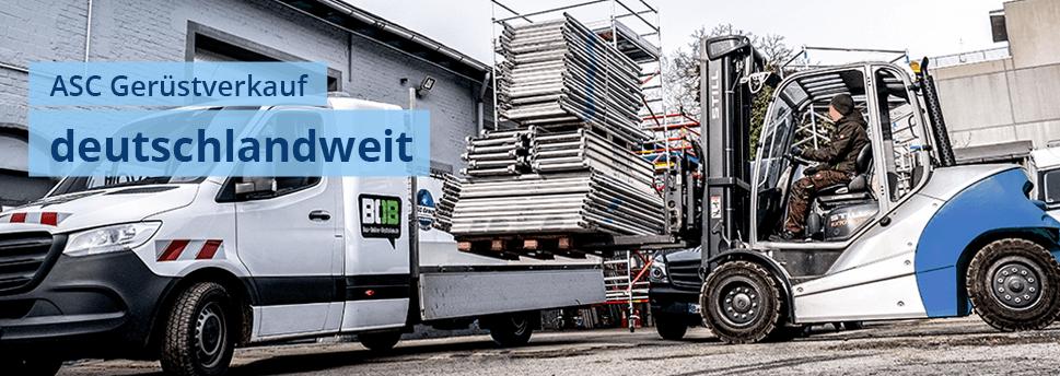 ASC-Gerüste deutschlandweit kaufen
