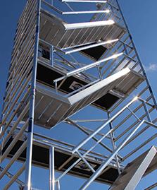 Treppengerüst mieten